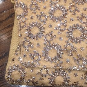Deux Lux Bags - Deuxe Lux Brand New Straw Clutch w sequins/glitter